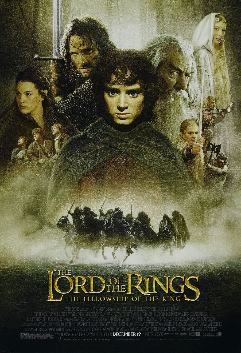 The Fellowship Of The Ring (2001) 1